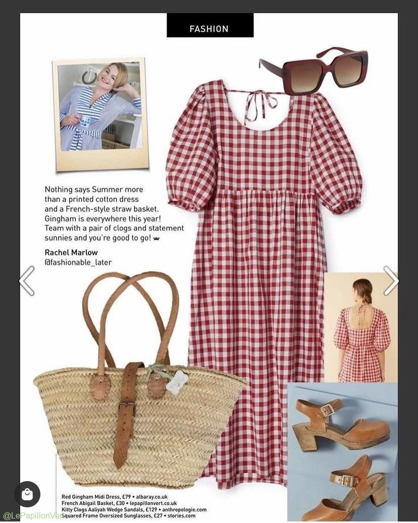 Featured: Abigail Basket @fashionablelater in @queenbeemagazine