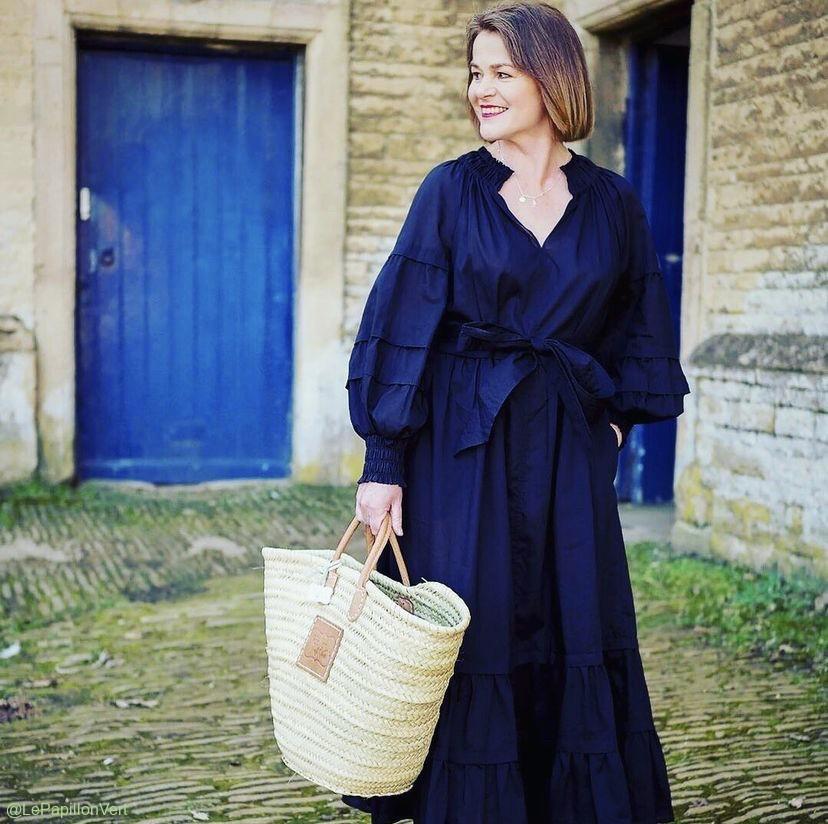@Fashionablelater with Isabella Basket