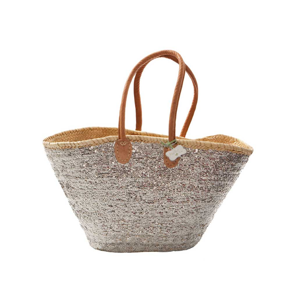 Hand Woven French Market Baskets | Beach Bags |